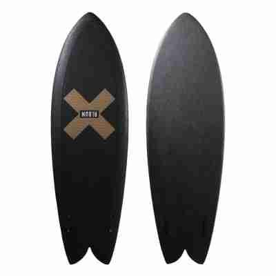 "5'7"" Presto Soft Top-Golden X (Black)"