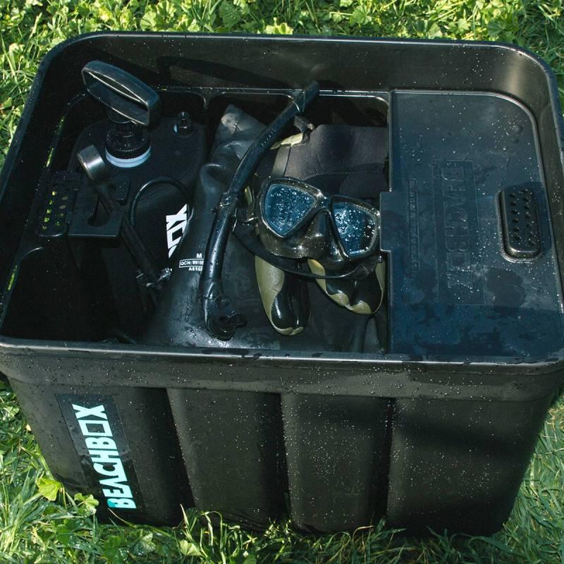 BeachBox wet gear storage