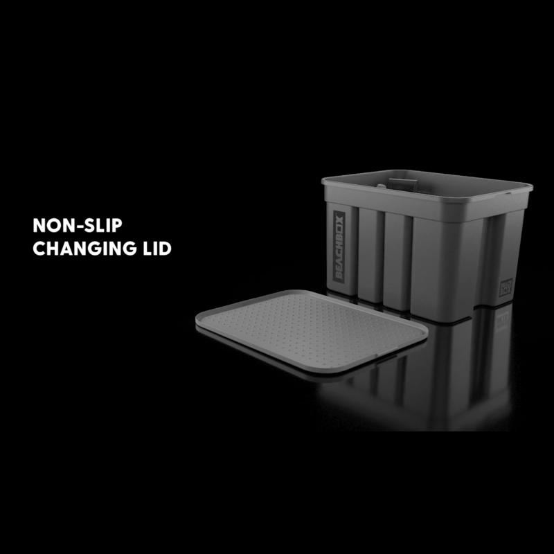 BeachBox Non-slip changing lid