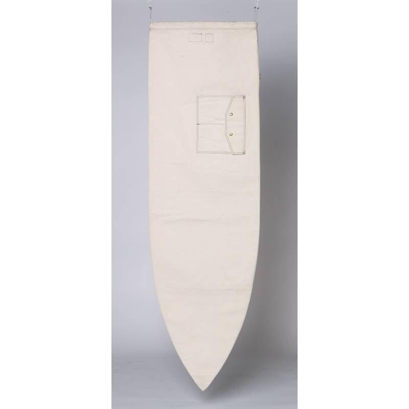 OLA CANVAS Shortboard Bag - Natural