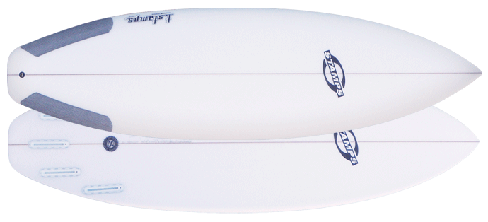 stamps surfboards grinder x
