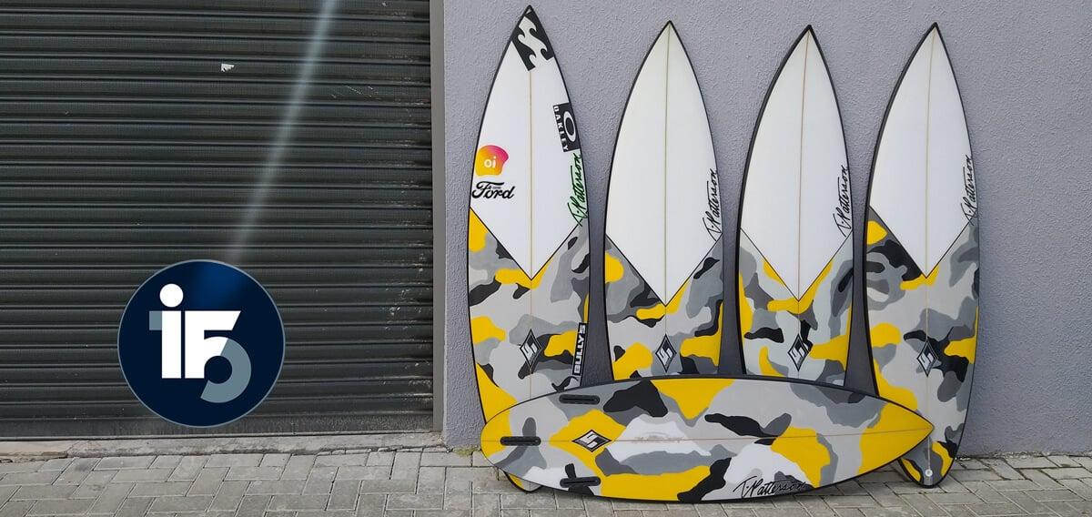 Italo Ferreira Surfboard - T Patterson Surfboards