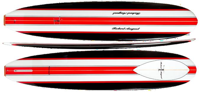 Robert August What I Ride longboard