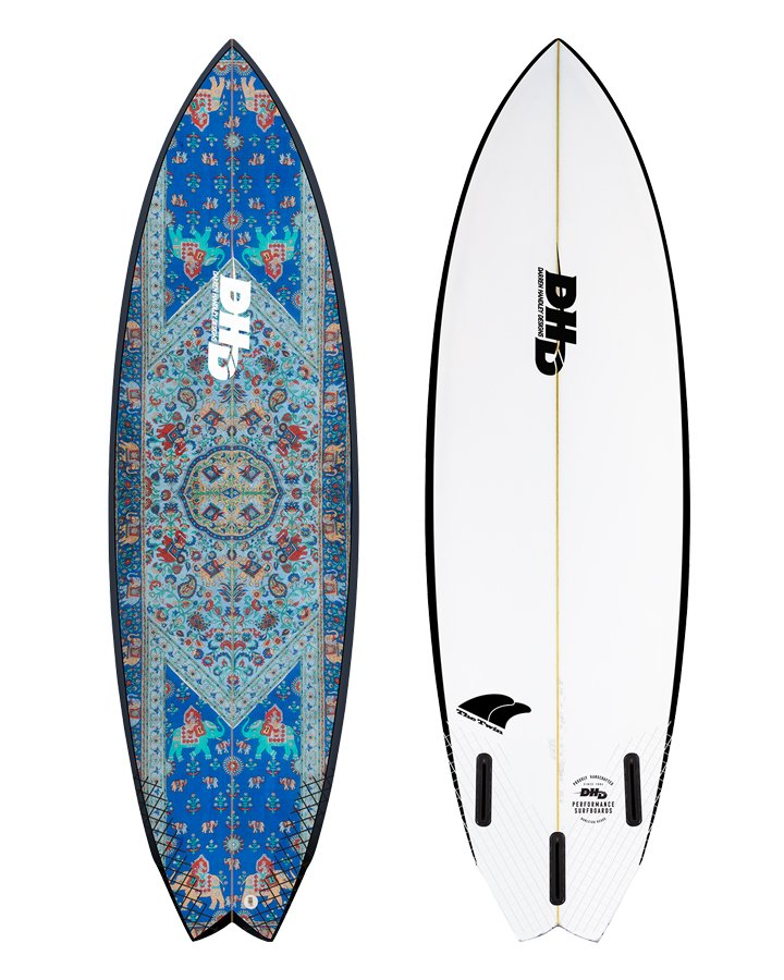 DHD Surfboards - Twin Fin