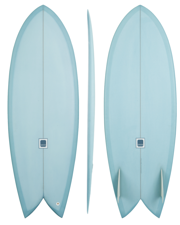 bliss fish by canvas surfboards