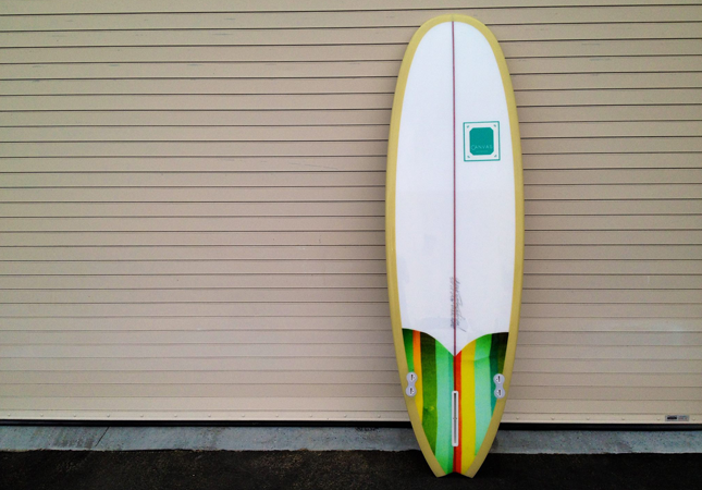 canvas surfboards style